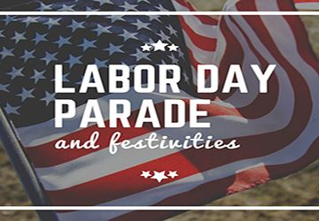 Labor Day Parade Festivities 360x250