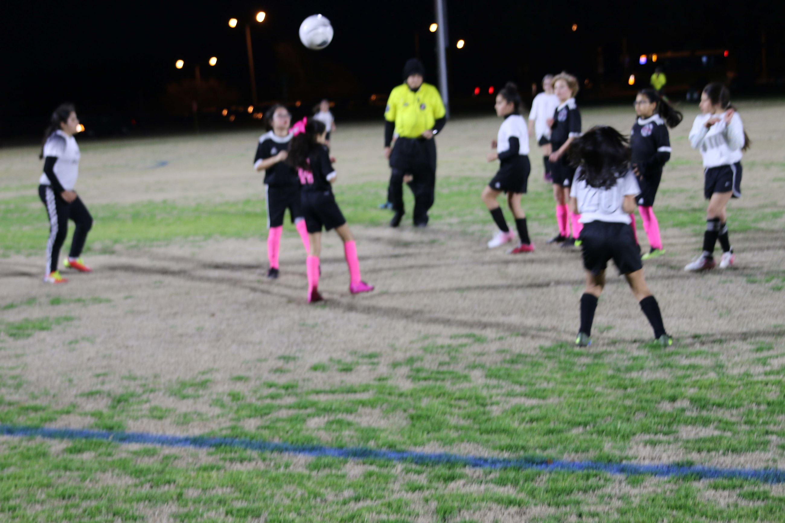 Winters soccer opening night