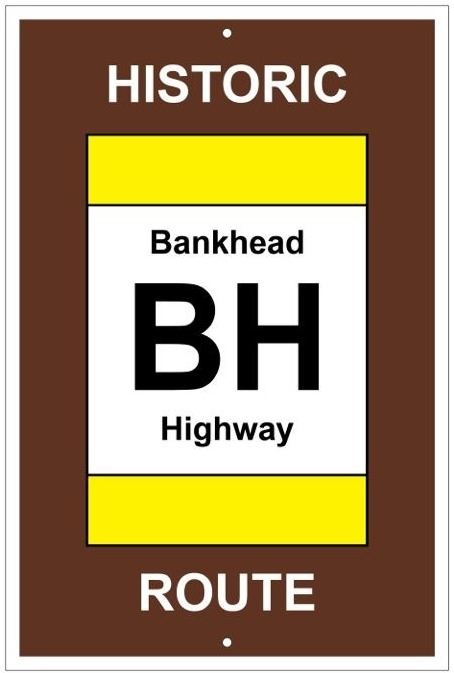 Bankhead Highway sign